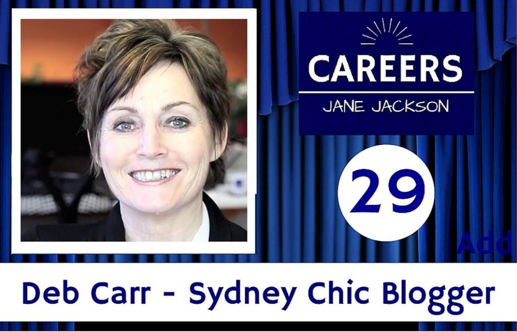 Sydney Chic, Blogger, Deb Carr