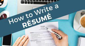 how to write a resume, career change, resume, resume writing, resumes, CV, curriculum vitae