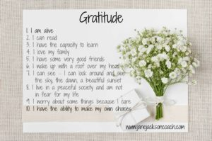 gratitude, mindfulness, happiness