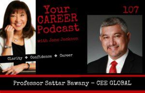 Professor Sattar Bawany, Sattar Bawany, Jane Jackson, career coach, Jane Jackson Coach, career