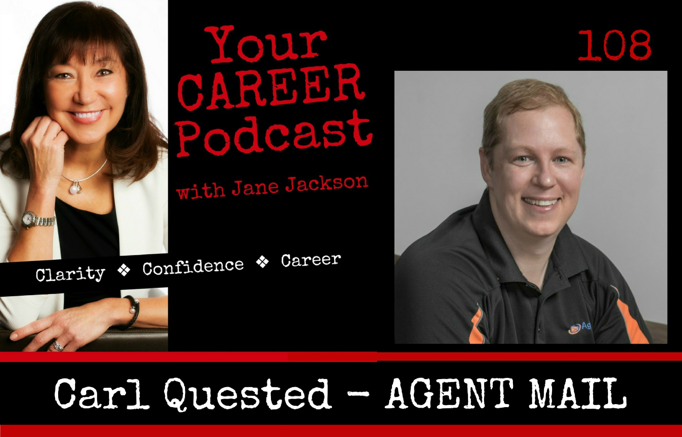 Carl Quested, AgentMail, BrandStrong, Jane Jackson, Career Coach
