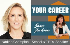 Nadine Champion, TEDx, Jane Jackson, career coach, sydney, australia, martial arts, sensei, Benny The Jet Urquidez