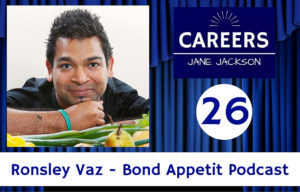 ronsley vaz, bond appetit, podcast, podcasting