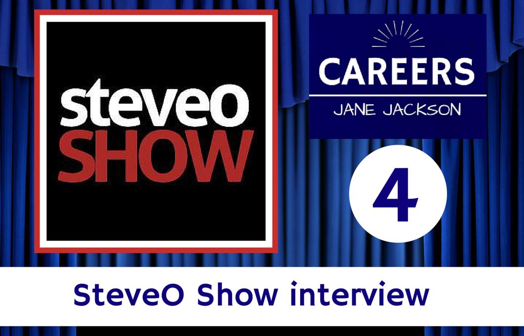 SteveO Show, SteveO, Navigating career crossroads, book