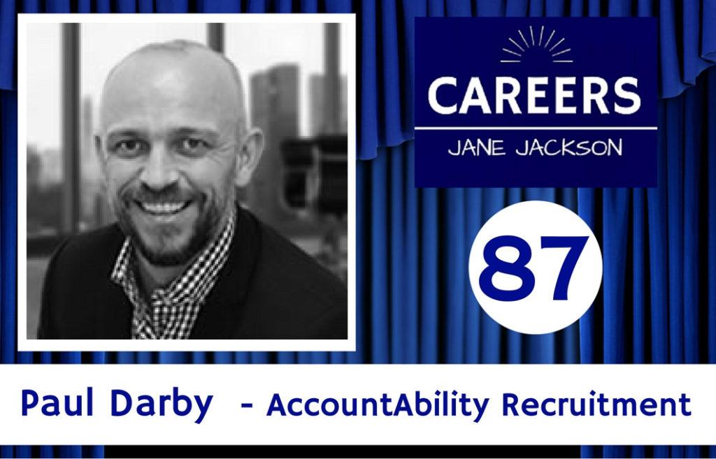 Paul Darby, AccountAbility, Recruitment, Career Change