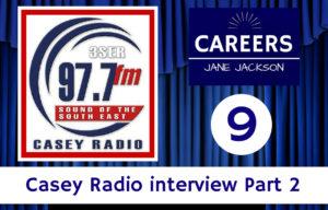 Casey Radio, Linda Wilson, Jane Jackson