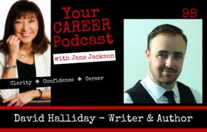 David Halliday, career coach, journalist, writer, author, Jane Jackson