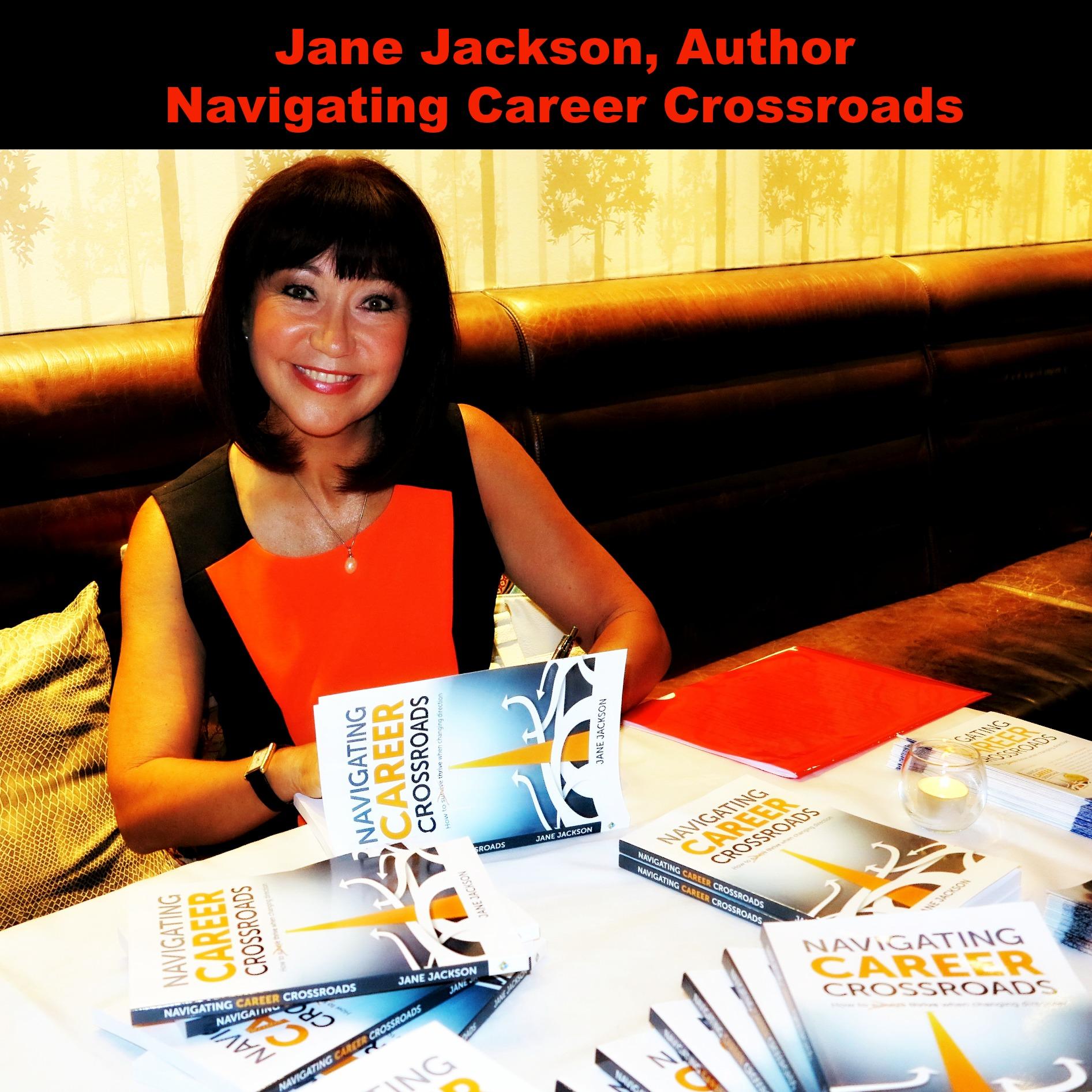 book launch, navigating career crossroads, jane jackson, career, crossroads,