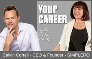 Calvin Correli, Simplero, website, webdesign, membership site, Calvin, SimpleroApp, Jane Jackson, career coach, career, sydney, australia