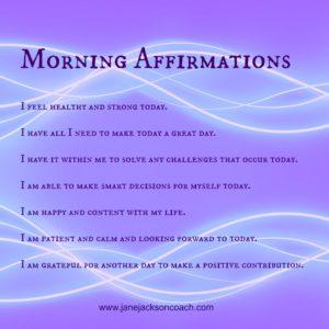 Morning Affirmations, affirmations, positive affirmations