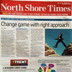 North Shore Times, Jane Jackson Coach, Careers, Media