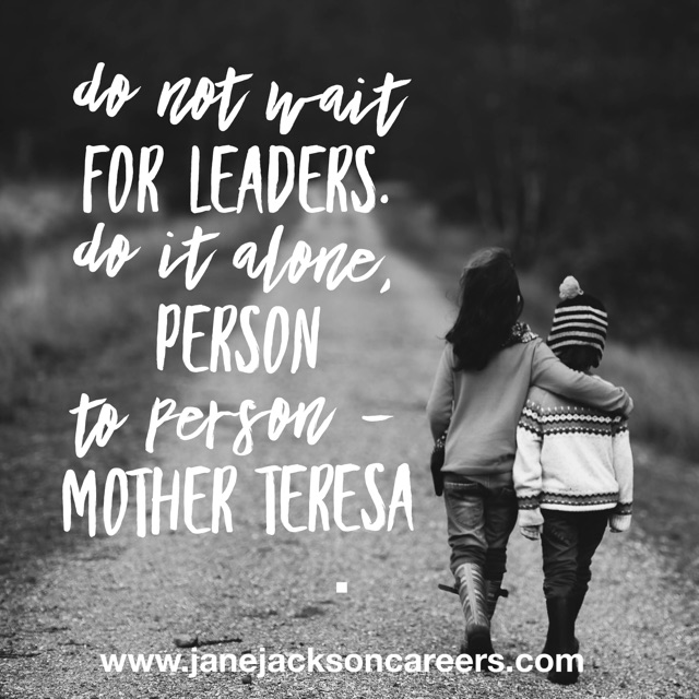 Mother Teresa, Jane Jackson, career coach, careers, sydney, australia, inspiration, career coaching, Jane career coach