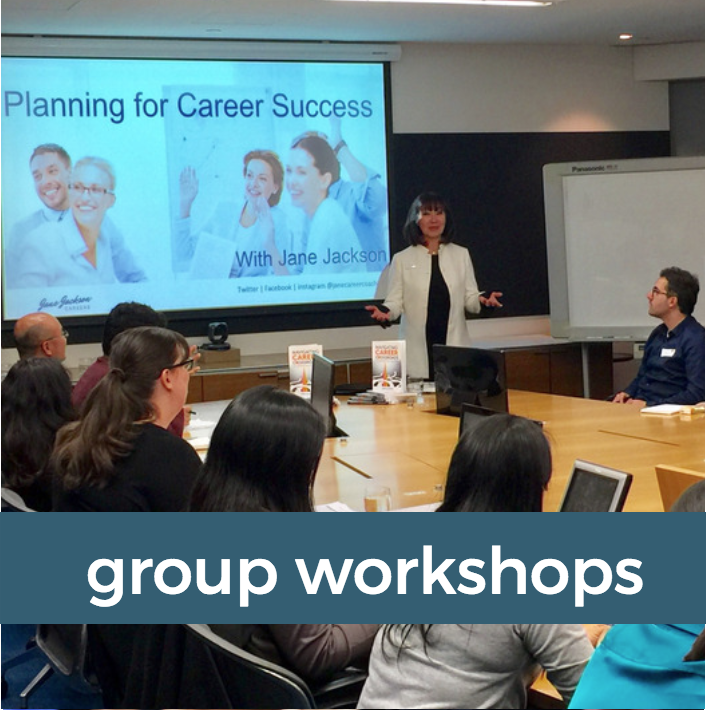 workshops, career training, group workshops, Jane Jackson