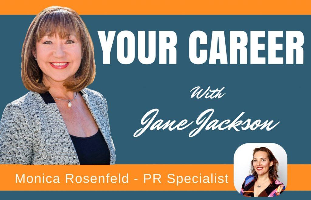 Monica Rosenfeld, public relations, PR, Jane Jackson, Career Coach, Sydney
