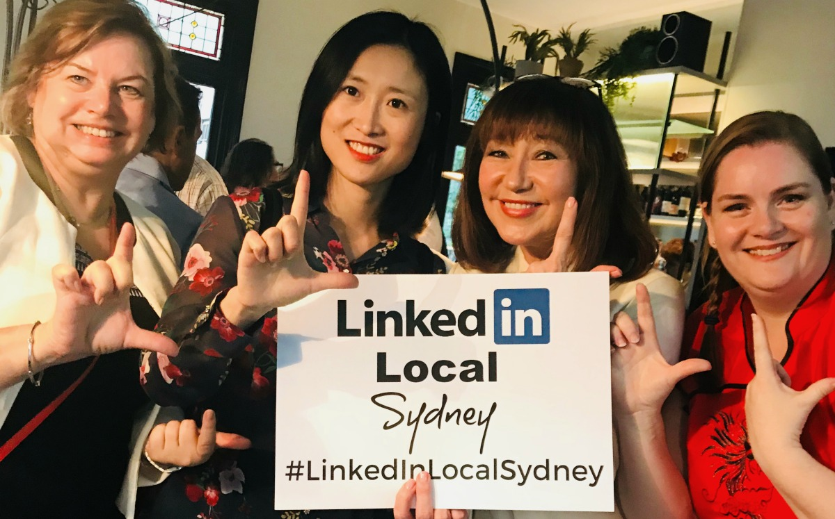 LinkedInLocalSydney, Jane Jackson, Jillian Bullock, Business Networking, networking, career coach, Sydney