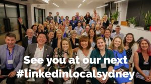 Linkedin Local, linkedinlocal, linkedin local sydney, Jane Jackson, Jillian Bullock, networking, fund raising, linkedin