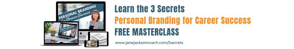 Personal Branding, free masterclass, personal brand