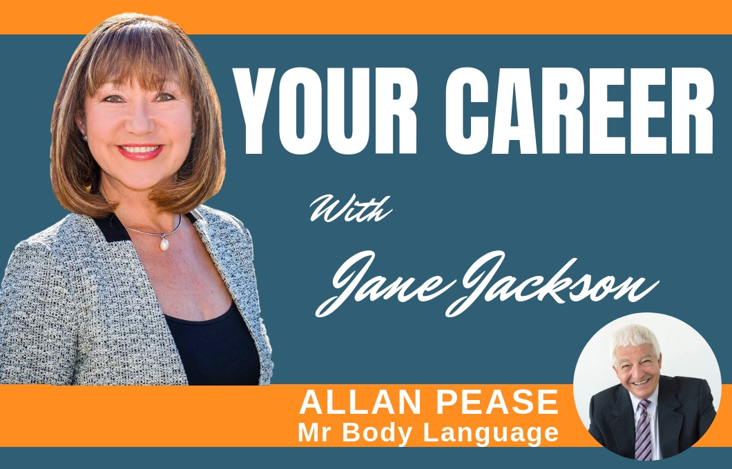 Allan Pease, Body Language, Jane Jackson, career coach, Sydney,