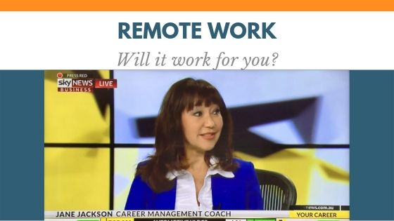 REMOTE WORK, Jane Jackson, career coach, sydney