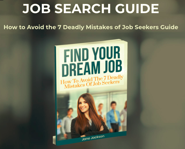 job search guide, jane jackson, career coach, job seeker, job search. career change, sydney, australia, hong kong, singapore, london