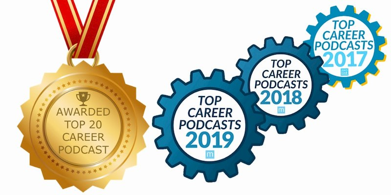 top career pod cast awards