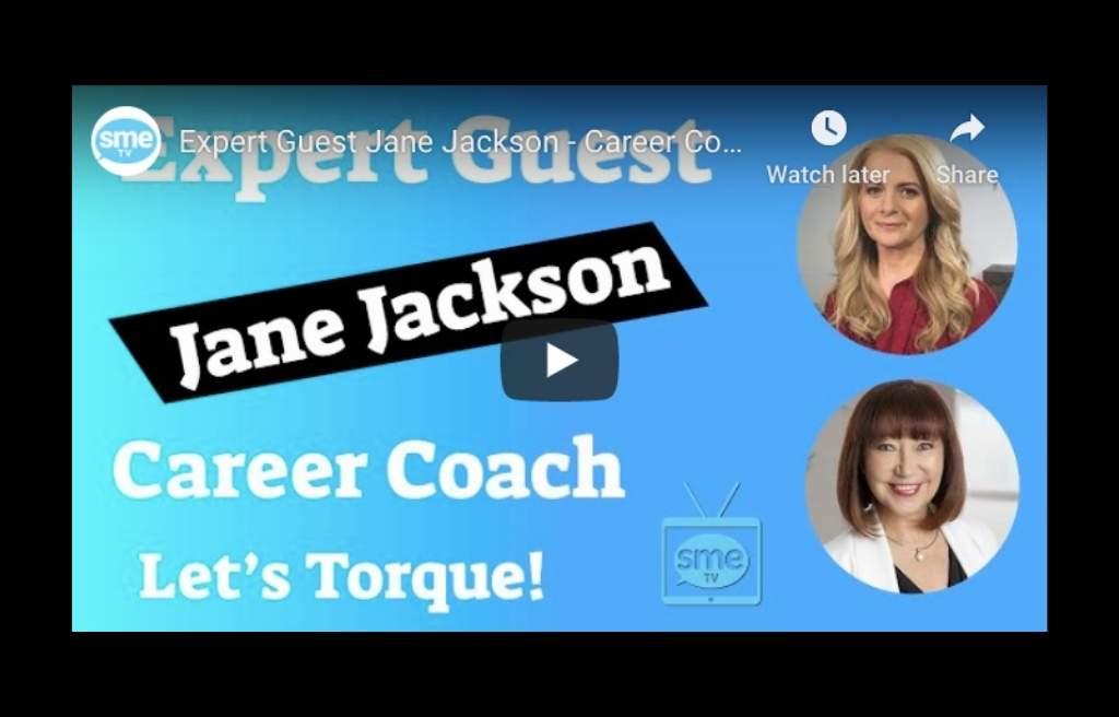 SME TV, Angela Vithoulkas, Jane Jackson, career coach, careers