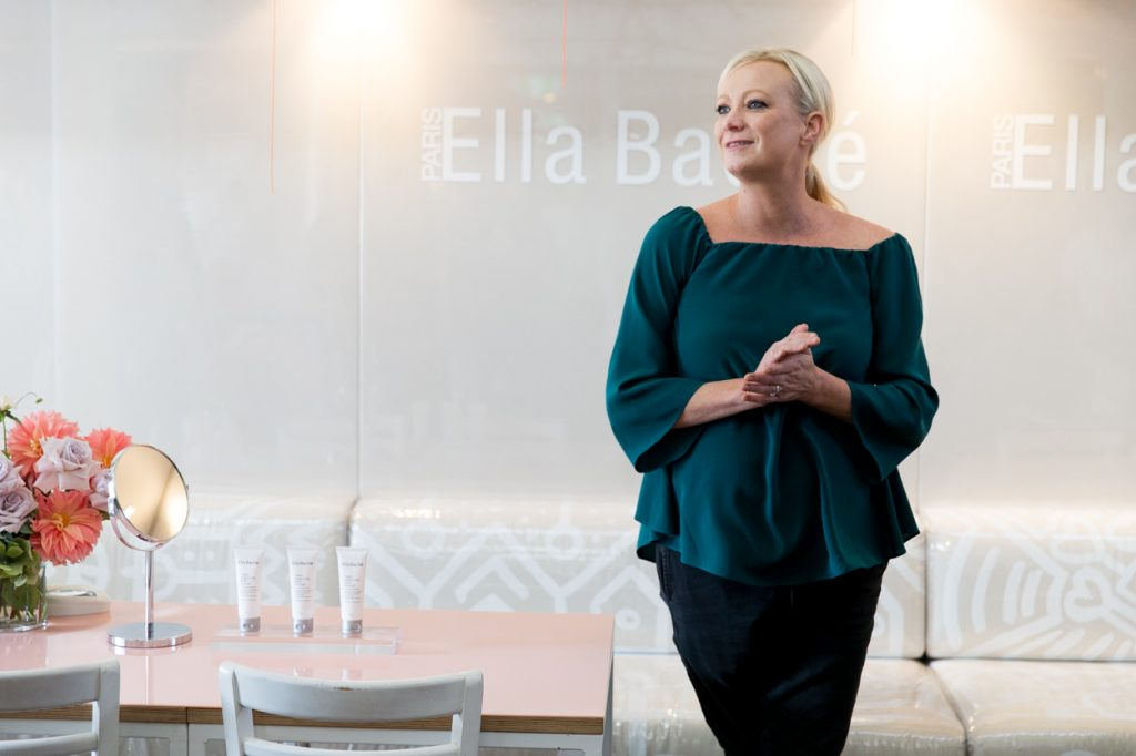 Pippa Hallas, CEO of Ella Baché, beauty therapy, beauty, skincare, leadership, franchise, paris, london, new york, sydney