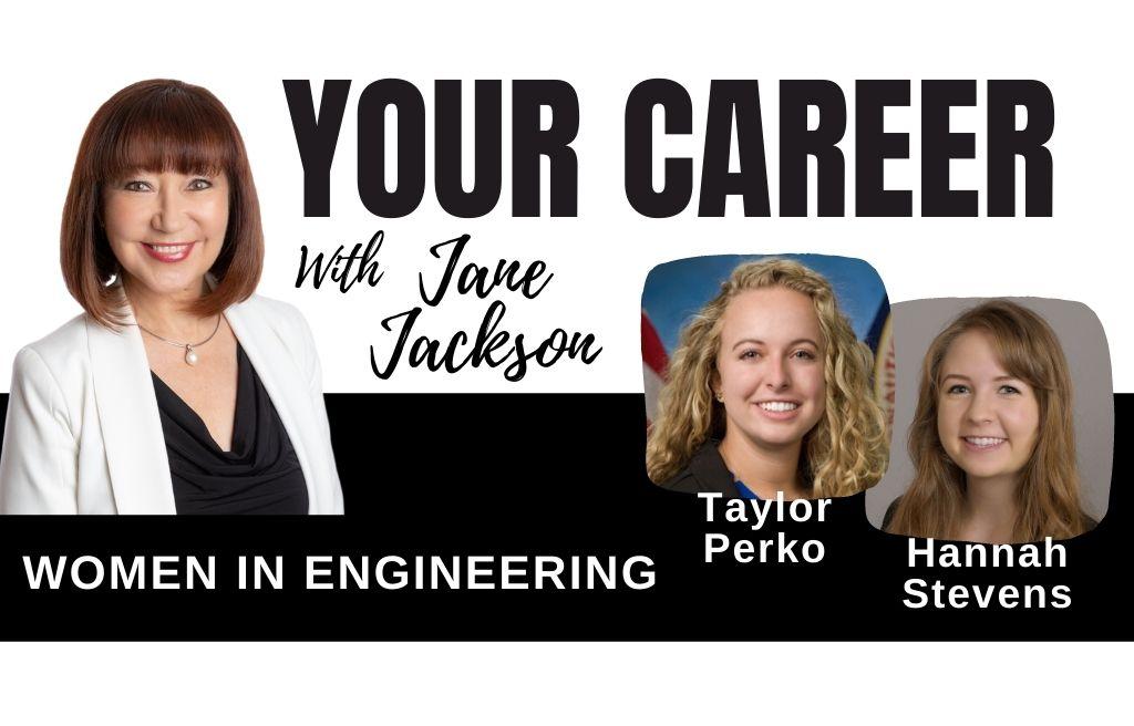 women in engineering, STEM jobs, engineering, hannah stevens, taylor perko