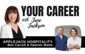 applejack hospitality, jane jackson, ben carroll, hamish watts, hospitality
