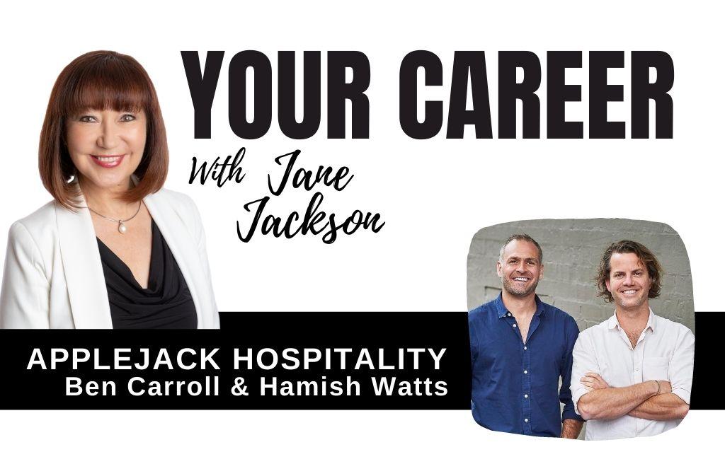 Applejack hospitality, ben carroll, hamish watts, hospitality