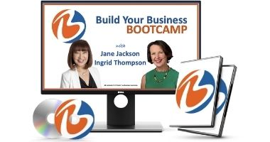 build your business bootcamp, jane jackson, ingrid thompson, starting your own business