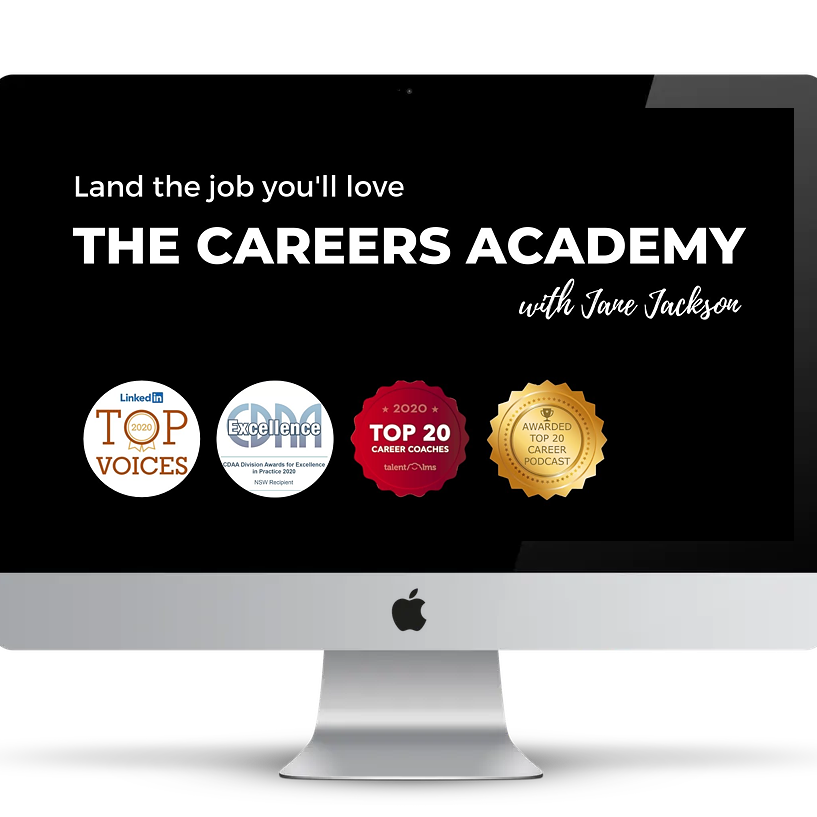 Career coaching, Jane Jackson, The Careers Academy, coaching, careers, career coach, sydney, Australia